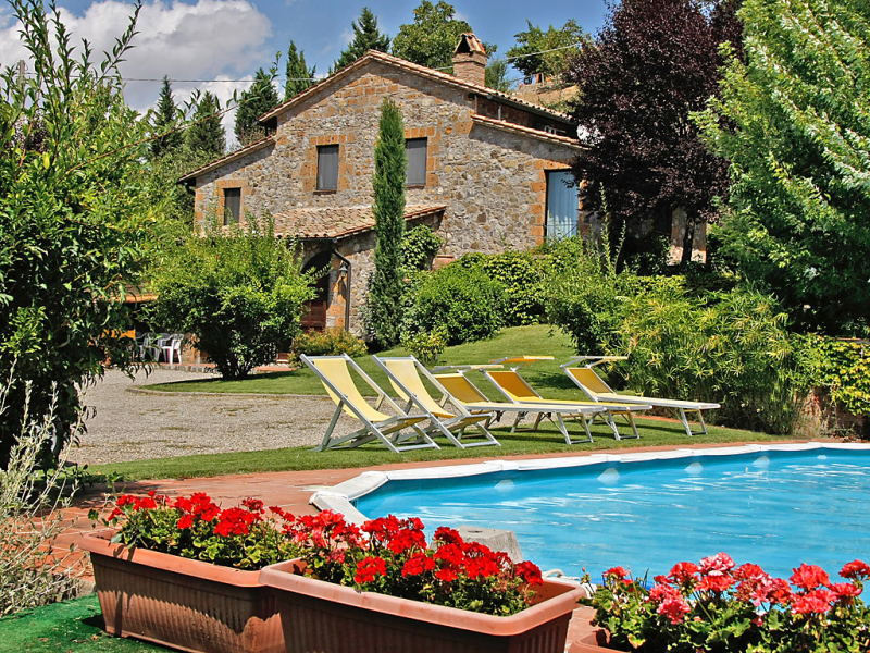 Podere agnese 1415497,Villa en Celle Sul Rigo, en Toscana, Italia  con piscina privada para 6 personas...