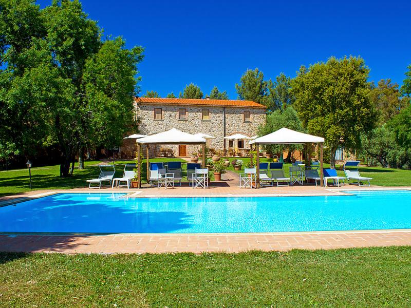 Formula 1415531,Apartamento  con piscina privada en Follonica, en Toscana, Italia para 3 personas...
