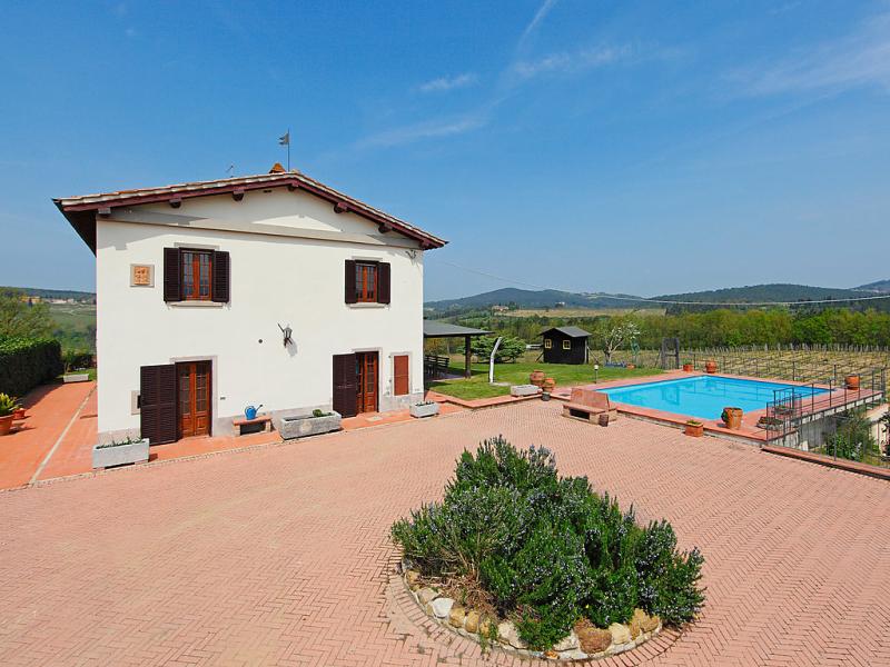 Il poggetto 1415641,Villa en Mercatale Val di Pesa, Chianti, Italia  con piscina privada para 10 personas...