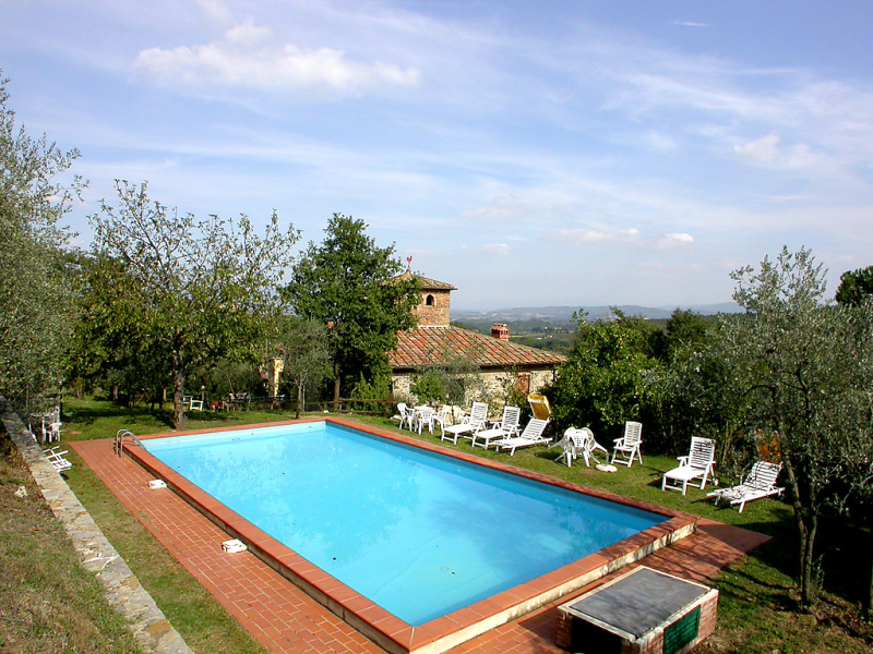 Poggio cuccule 1415647, Castle  with private pool in Montegonzi, Chianti, Italy for 22 persons...