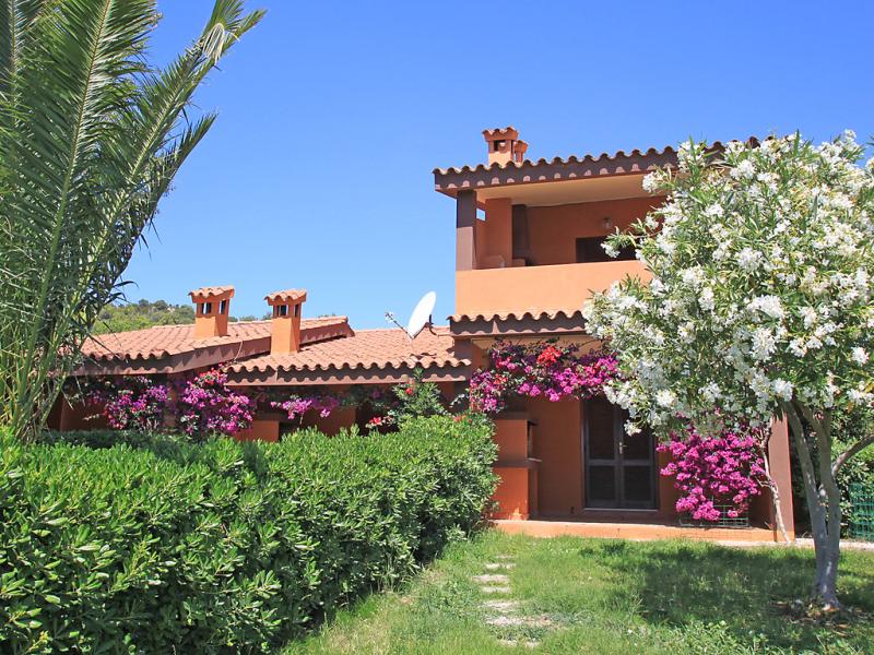 Marrone 1416473,Apartamento en Costa Rei, Sardinia, Italia para 4 personas...