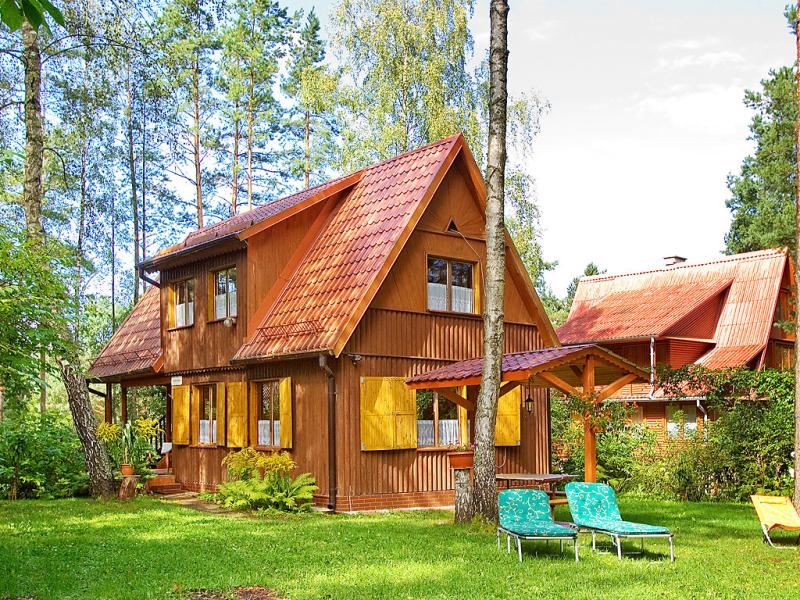 Grzybowa 1417030,Vivienda de vacaciones en Warchaly, Mazury, Polonia para 6 personas...