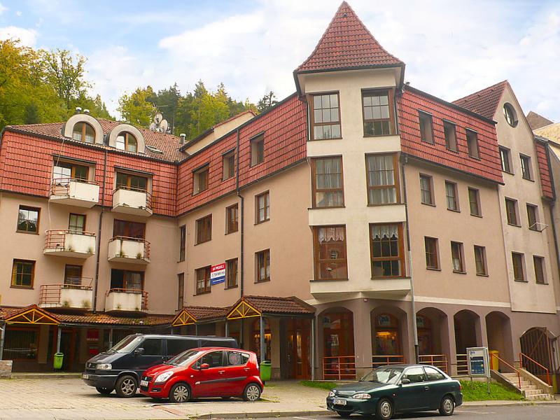 Lanovka 1417820,Appartement à Jachymov, West Bohemia, République Tchèque pour 5 personnes...