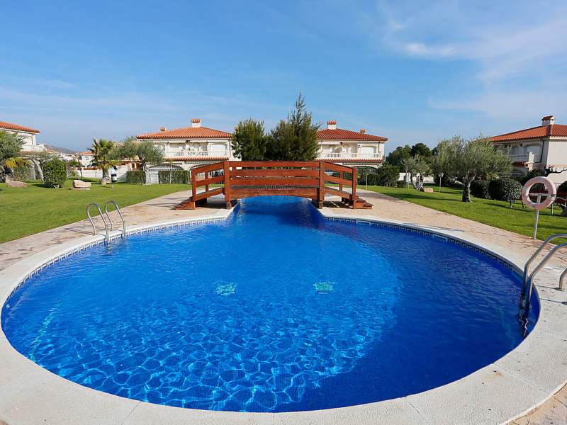 Residencial jalisco de los monteros 1418692,Apartamento  con piscina privada en Miami Platja, en la Costa Dorada, España para 4 personas...