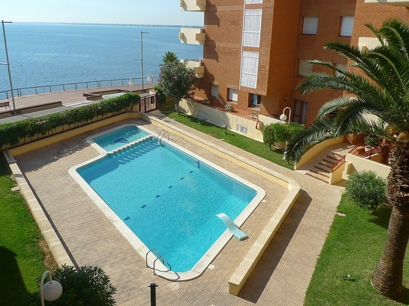 Voramar 01 1418771,Apartamento  con piscina privada en l'Ampolla, Tarragona, España para 6 personas...