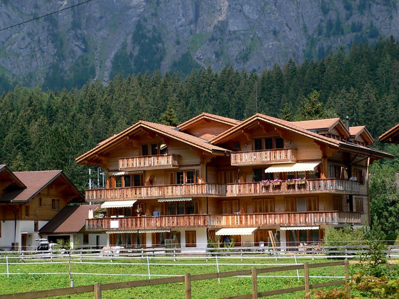 Schweizerhof 1421343,Apartamento en Kandersteg, Bernese Oberland, Suiza para 2 personas...