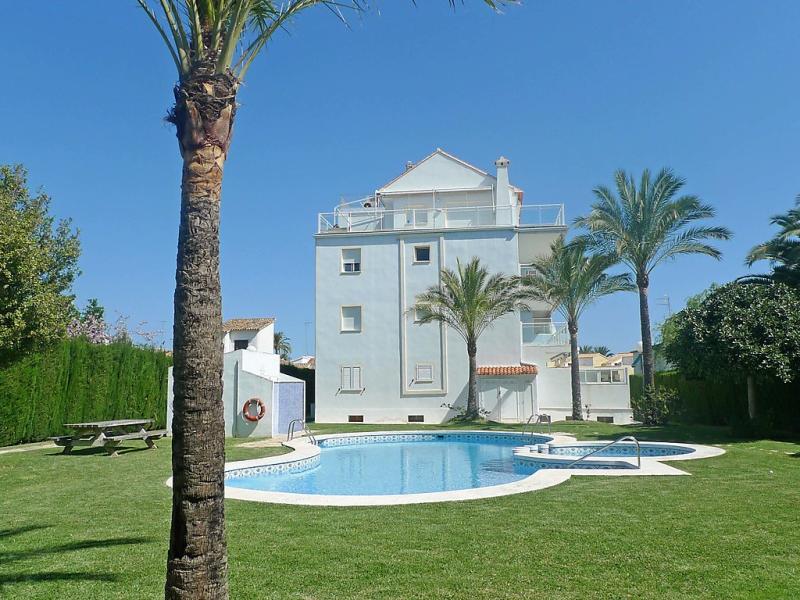Turquesa 1427602,Apartamento  con piscina privada en Dénia, Alicante, España para 4 personas...