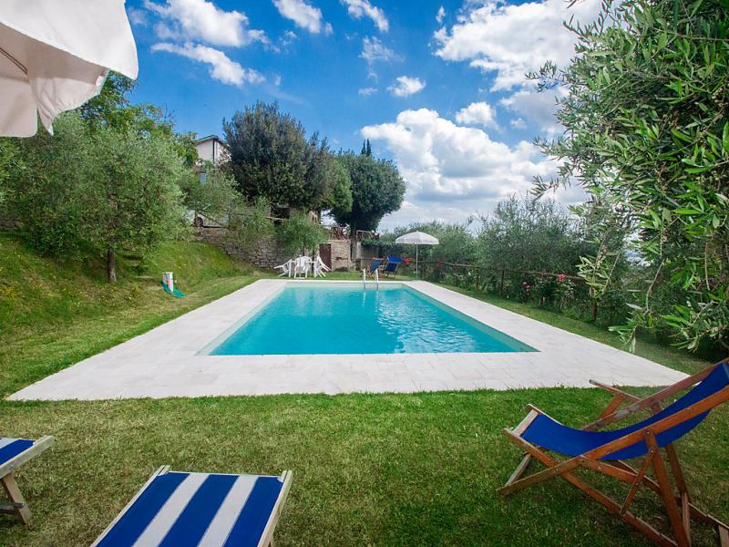 Appartamento 1 1428121,Apartamento en Cortona, en Toscana, Italia  con piscina privada para 4 personas...