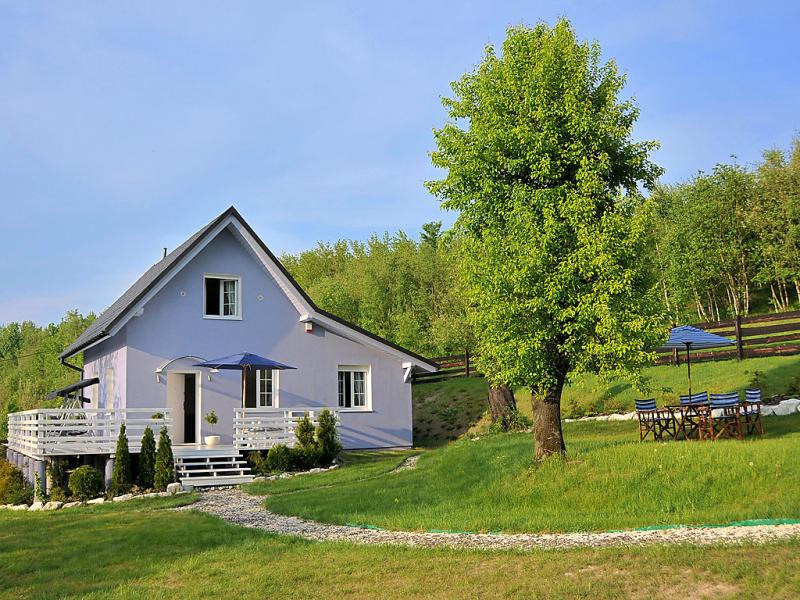 Niebieski 1428404,Vivienda de vacaciones  con piscina privada en Rzyki, Beskidy, Polonia para 6 personas...