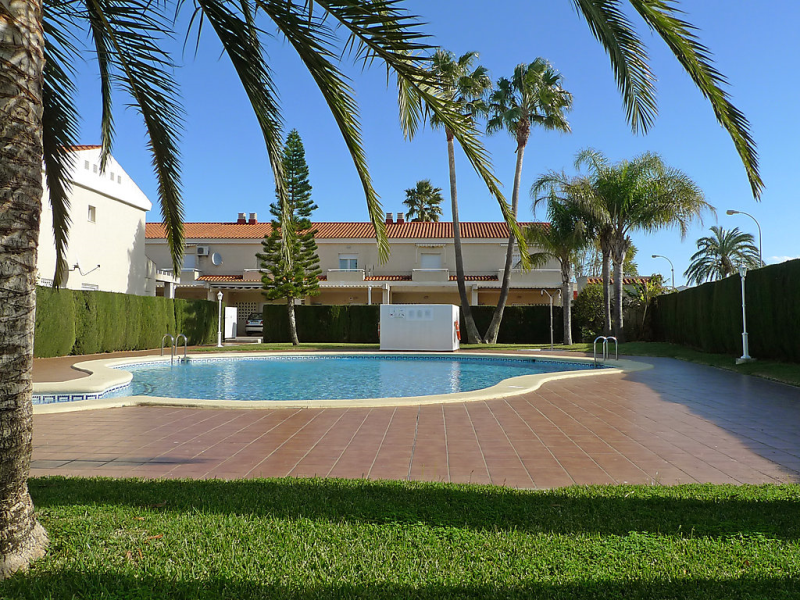 Urb la rosaleda iii 1429136,Vivienda de vacaciones  con piscina privada en Dénia, Alicante, España para 6 personas...