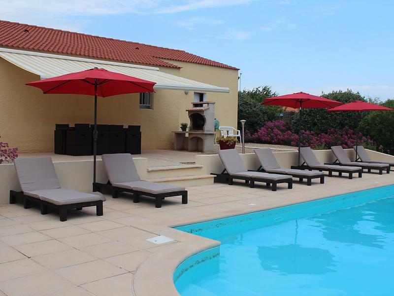 Villa les cygnes 1432058,Vivienda de vacaciones en Les Sables d'Olonne, Vendée, Francia  con piscina privada para 8 personas...