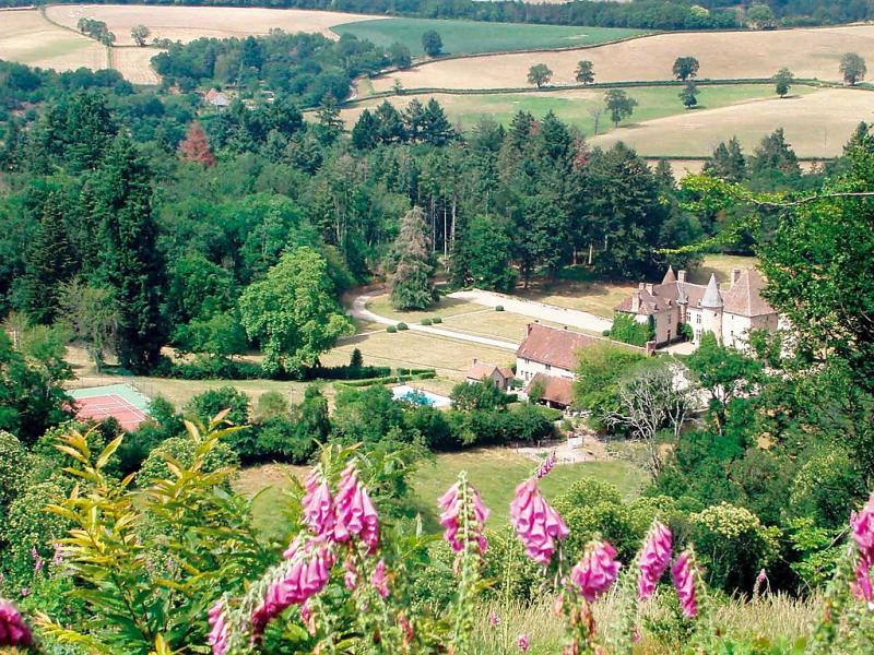 La maison du chateau 1432299,Vivienda de vacaciones en Étang-sur-Arroux, Burgundy, Francia  con piscina privada para 8 personas...