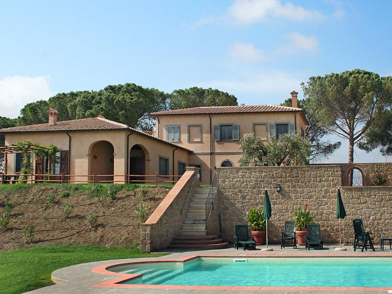 Casa dellarco 1433083,Vivienda de vacaciones en Manciano, en Toscana, Italia  con piscina privada para 8 personas...