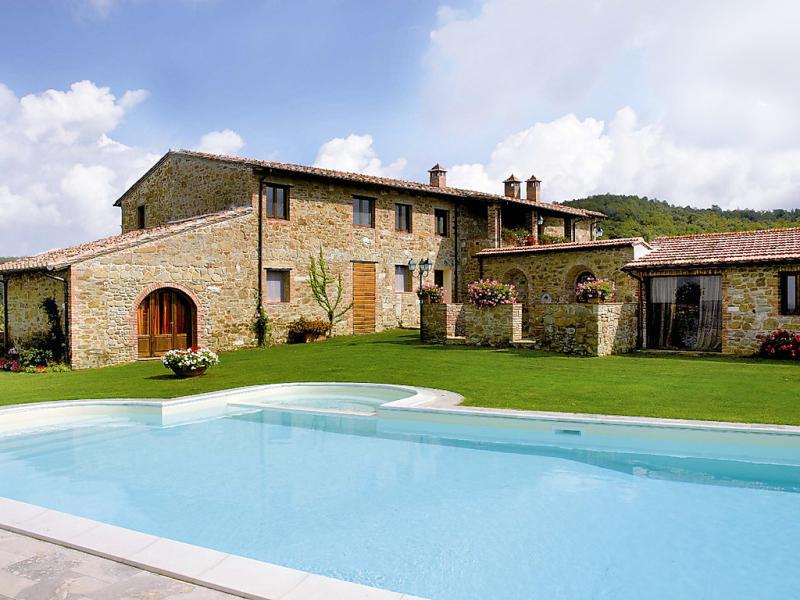 La veduta 1434393,Vivienda de vacaciones en Monte San Savino, en Toscana, Italia  con piscina privada para 16 personas...