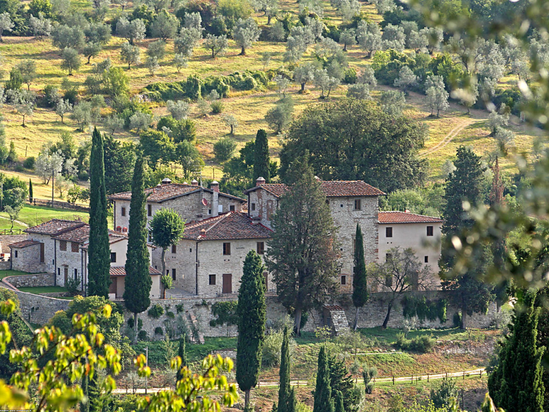 Il salone 1435077,Apartamento  con piscina privada en Impruneta, en Toscana, Italia para 3 personas...
