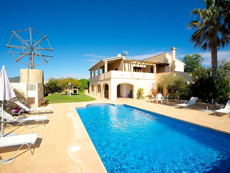 Es mol nou 1436019,Vakantiewoning in Son Servera, op Mallorca, Spanje  met privé zwembad voor 6 personen...