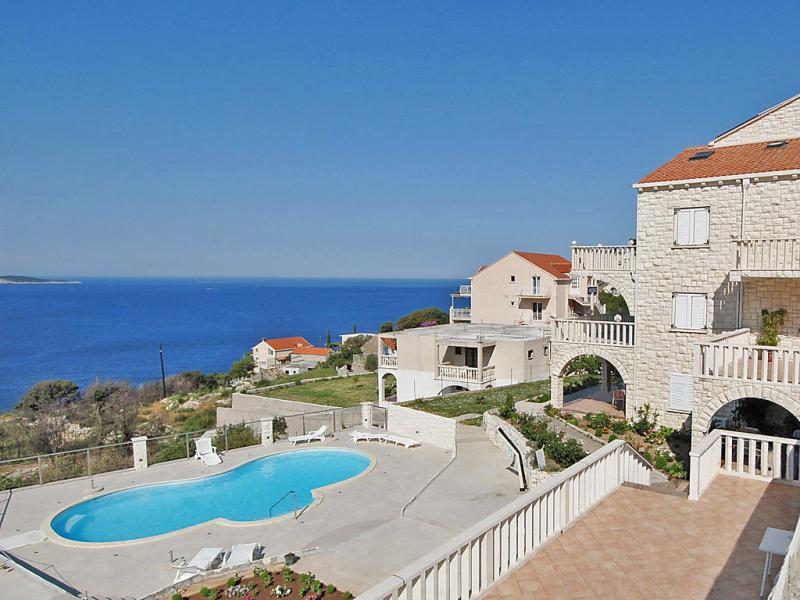 1436435,Apartamento  con piscina privada en Dubrovnik-Soline, Dubrovnik-Neretva, Croacia para 2 personas...