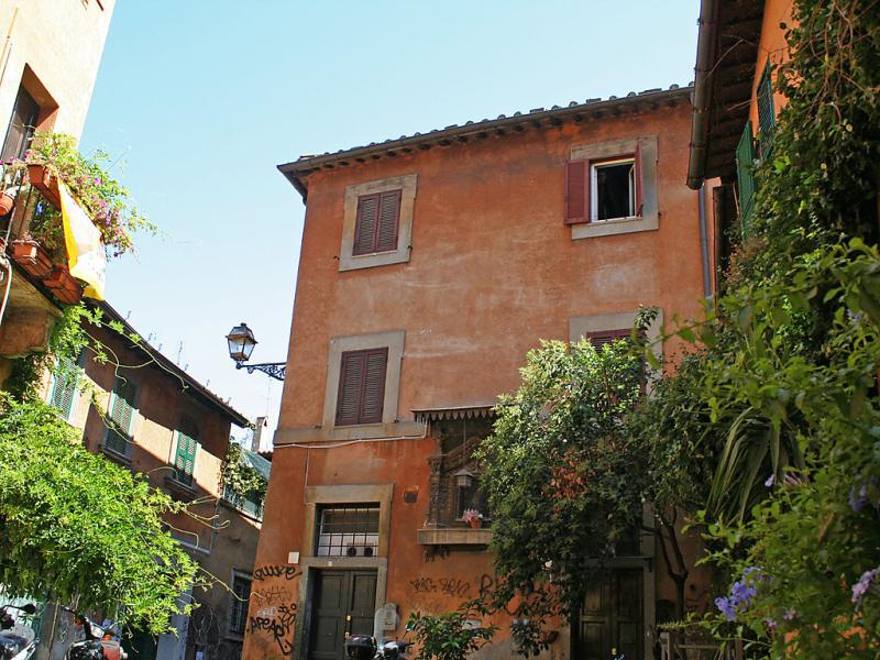 Trastevere  cipresso 1437808,Apartamento en Roma: Centro Storico, Lazio, Italia para 2 personas...