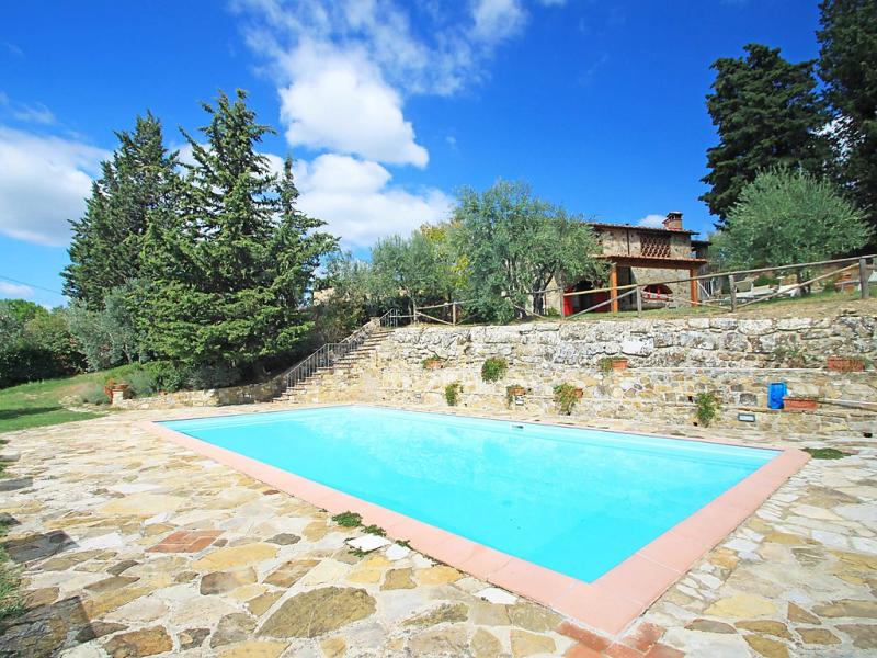 Badia a passignano 1439268,Villa  con piscina privada en Badia a Passignano, Chianti, Italia para 6 personas...