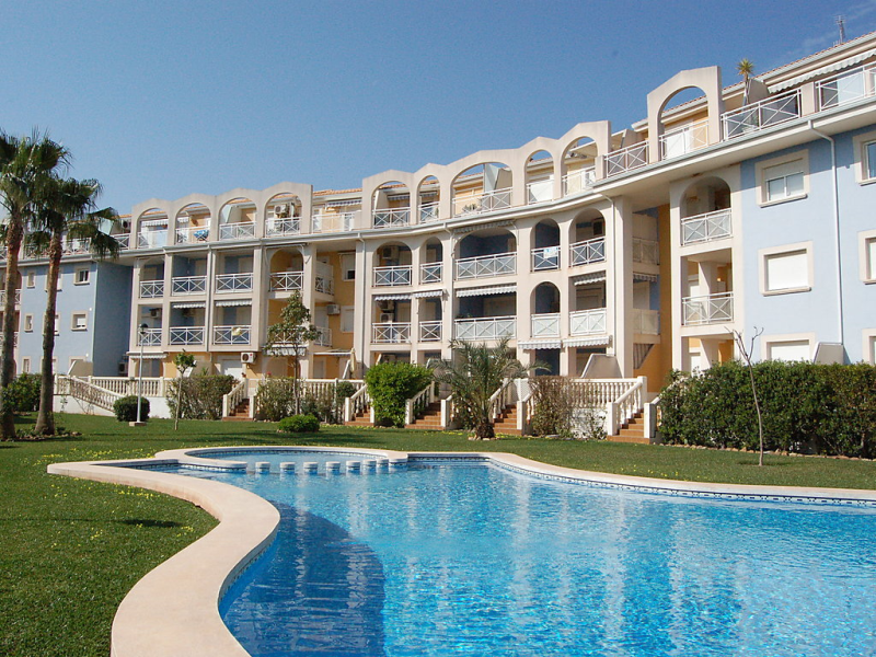 Atico 1440530,Appartement in Dénia, Alicante, Spanje  met privé zwembad voor 3 personen...