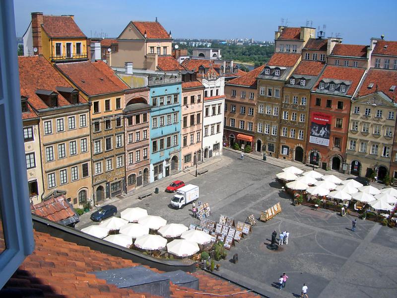 Rynek starego miasta 1442622,Apartamento en Warszawa, Mazovia, Polonia para 3 personas...