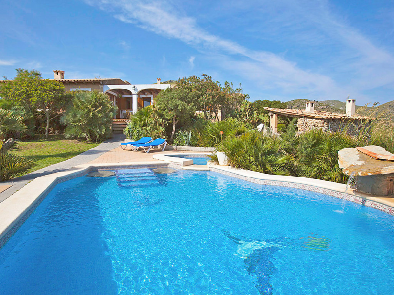 Cala torta ca na moli 1445843, Holiday house  with private pool in Cala Torta, Mallorca, Spain for 6 persons...