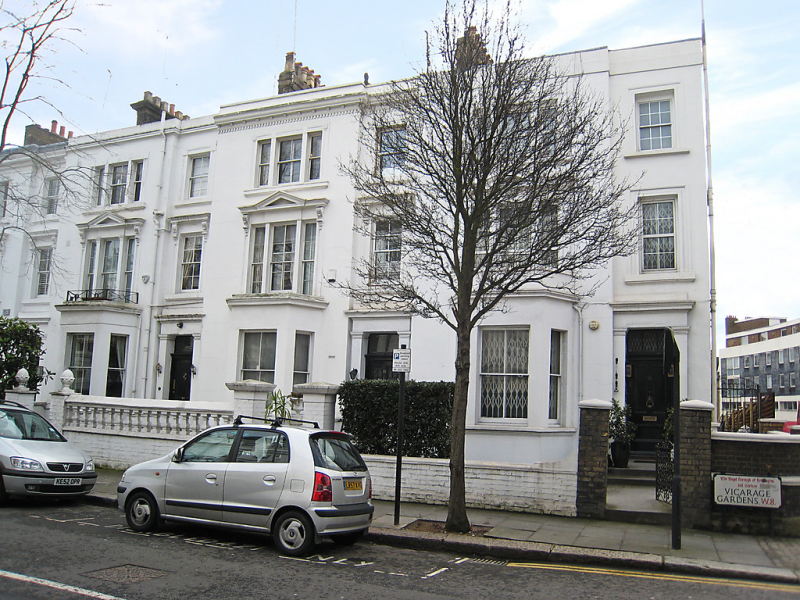 Vicarage gardens 1446108,Apartamento en London Kensington, Greater London, Reino Unido para 6 personas...
