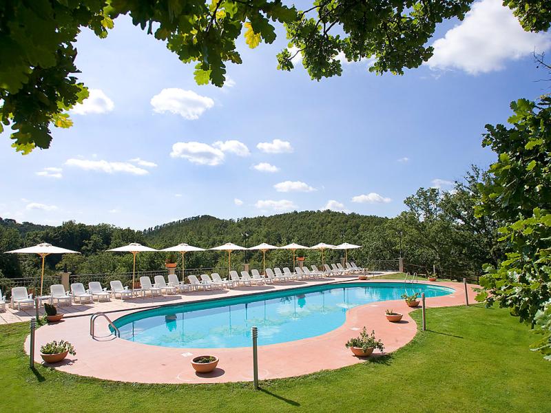 Oak 1447198,Apartamento en Pitigliano, en Toscana, Italia  con piscina privada para 4 personas...