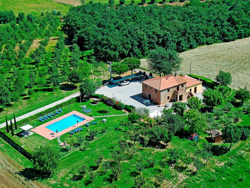 Giuseppe 1451761,Apartamento  con piscina privada en Cortona, en Toscana, Italia para 8 personas...