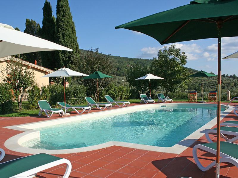 Pianella 1 1452227,Apartamento en Reggello, en Toscana, Italia  con piscina privada para 6 personas...