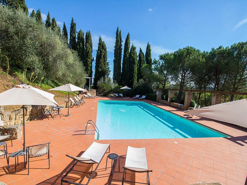 Macciangrosso 1453089,Apartamento  con piscina privada en Chianciano Terme, en Toscana, Italia para 3 personas...