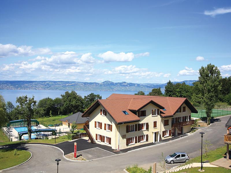 Village lugrin 1454518,Estudio  con piscina privada en Évian-les-Bains, Haute-Savoie, Francia para 6 personas...