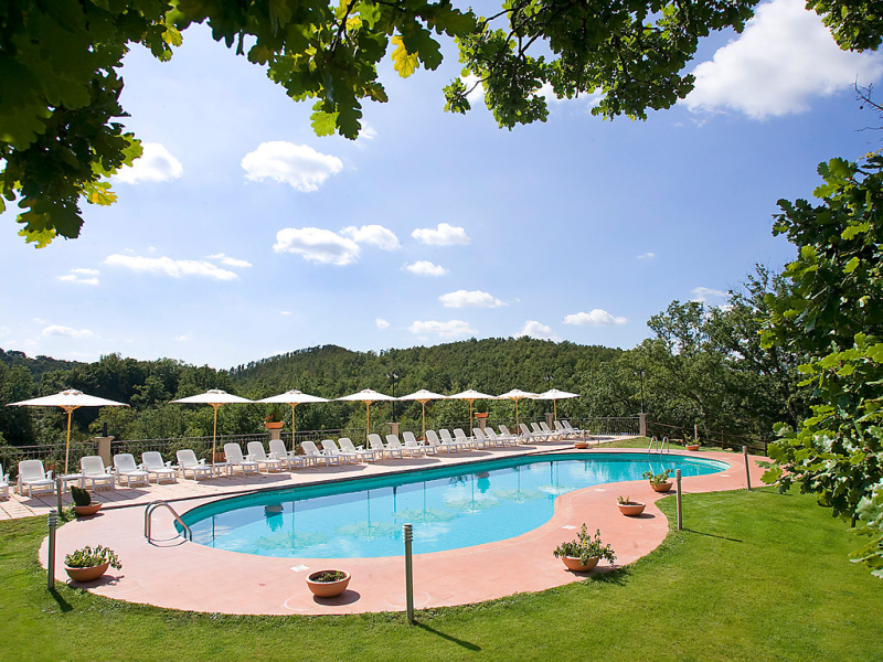 Oak 1454535,Apartamento en Pitigliano, en Toscana, Italia  con piscina privada para 4 personas...