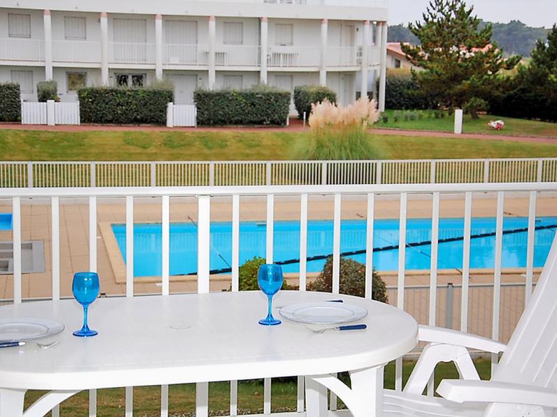 1455483,Apartamento  con piscina privada en Les Sables d'Olonne, Vendée, Francia para 4 personas...