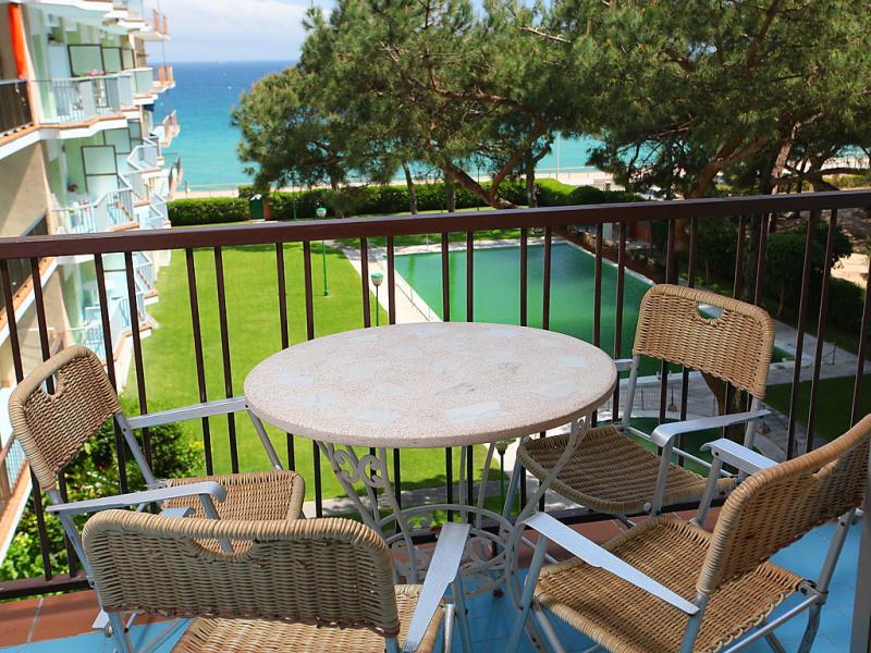 Apt olivier 1457223,Appartement in Blanes, aan de Costa Brava, Spanje  met privé zwembad voor 5 personen...