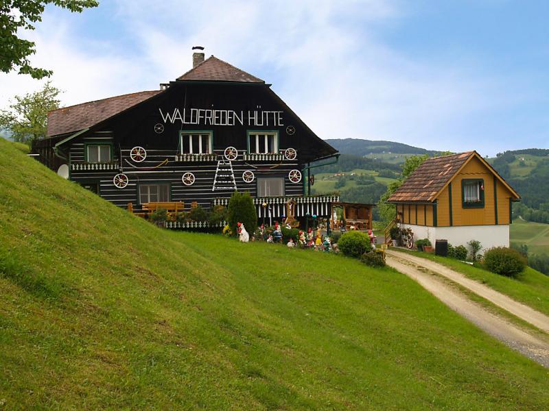 Waldfriedenhtte 1457584,Vivienda de vacaciones en Sankt Michael im Lavanttal, Carinthia, Austria para 6 personas...