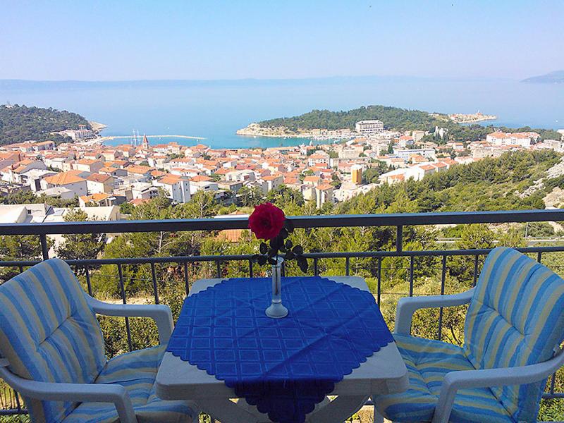 1458885,Appartement in Makarska, Kroatie, Kroatië voor 3 personen...