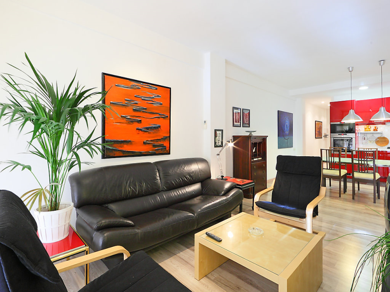 Eixample dret independncia valncia 1459949,Apartamento en Barcelona Stad, Barcelona, España para 5 personas...