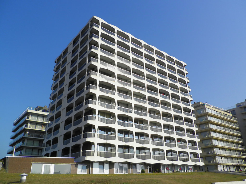 Westdiep 910 1460679, Apartment in De Panne, Vlaams Gewest, Belgium  with private pool for 4 persons...