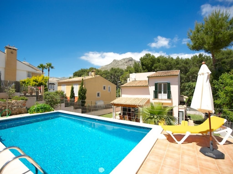 Villa el pinar 1471185, Holiday house  with private pool in Cala San Vicente, Ibiza, Spain for 8 persons...