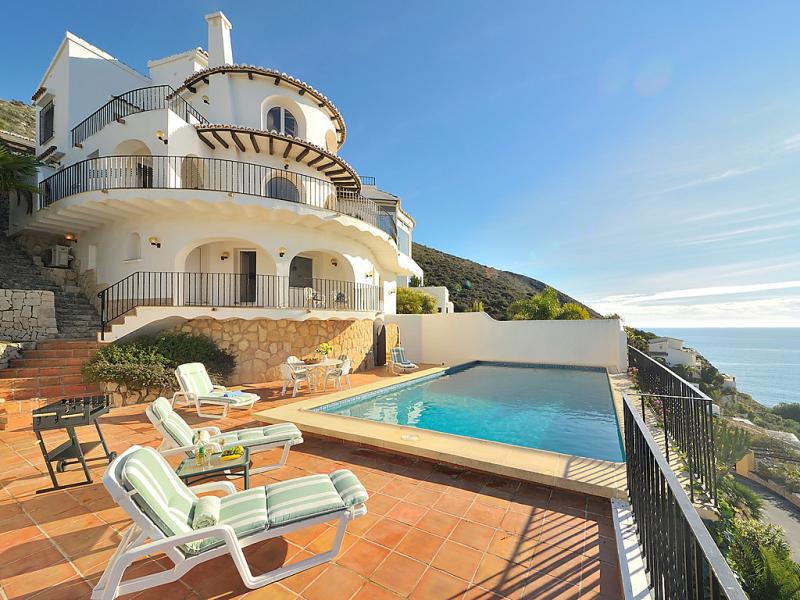 Vista panorama 1471719,Vivienda de vacaciones en Moraira, en la Costa Blanca, España  con piscina privada para 8 personas...
