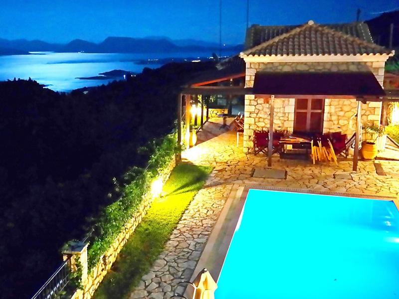 Lefkada villa 1472298,Vivienda de vacaciones  con piscina privada en Lefkada, Lefkada, Grecia para 4 personas...