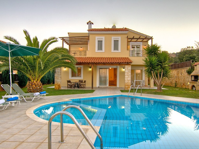 Anemonigerani 1479178,Holiday house  with private pool in Gerani, Rethymno, Crete, Greece for 6 persons...