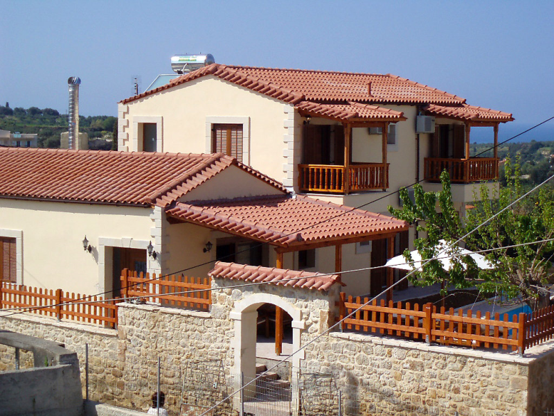 Michalis 1481846,Holiday house  with private pool in Asteri, Rethymno, Crete, Greece for 8 persons...