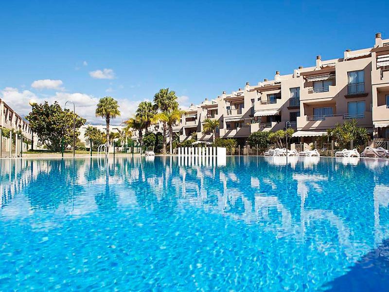 La tejita 01 1482250,Apartamento  con piscina privada en El Médano, Tenerife, España para 2 personas...