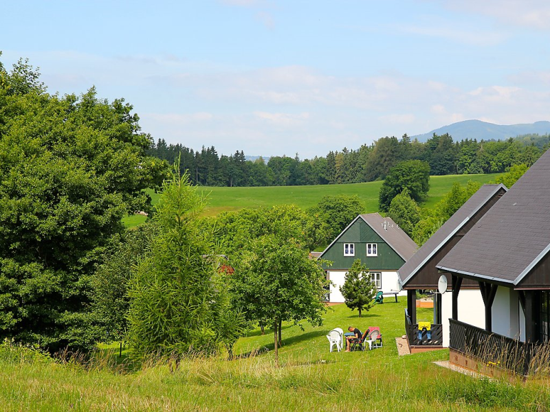 Happy hill 1482315,Location de vacances  avec piscine privée à Černý Důl-Čistá, Královéhradecký kraj, République Tchèque pour 6 personnes...