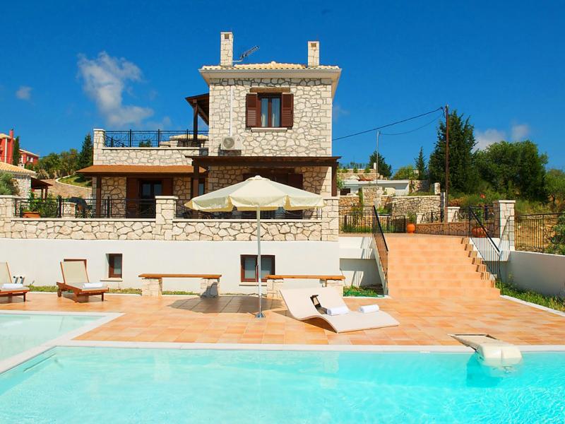 Luxury villa anemones lefkada 1483207,Vivienda de vacaciones  con piscina privada en Lefkada, Lefkada, Grecia para 6 personas...