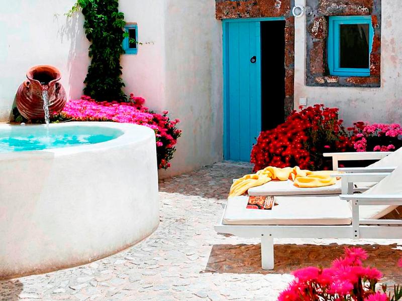 Ivi 1483335,Vivienda de vacaciones en Megalochori, Santorini, Cyclades, Grecia para 4 personas...