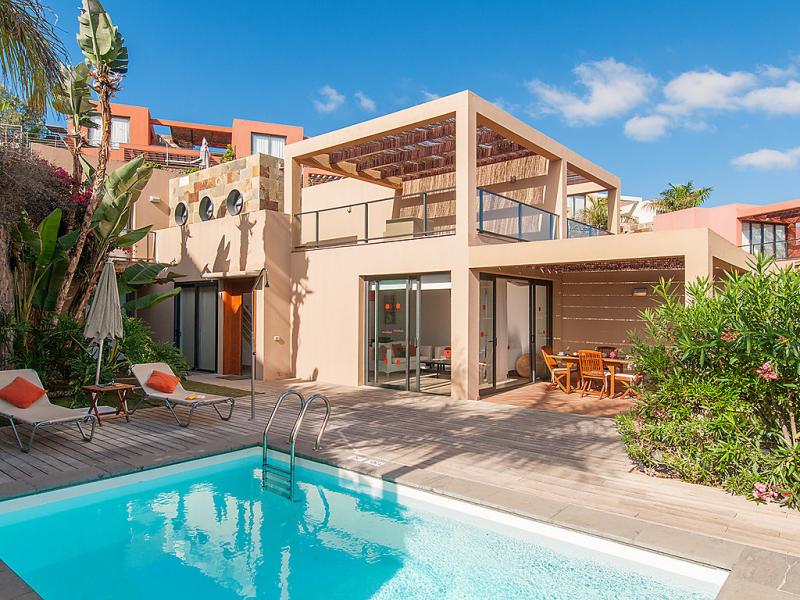 Las terrazas 13 1483639,Vivienda de vacaciones en Maspalomas, Gran Canaria, España  con piscina privada para 4 personas...