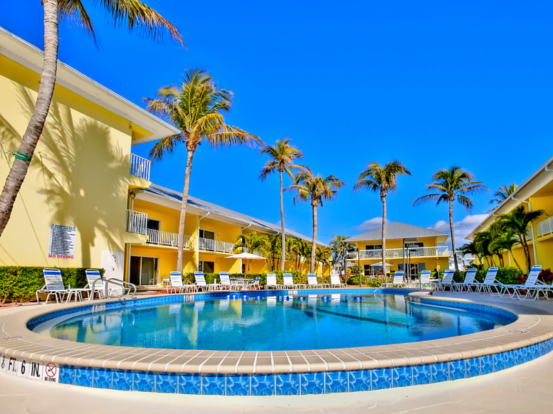 Blue water 1483882,Apartamento  con piscina privada en Fort Myers, Florida, Estados Unidos para 5 personas...